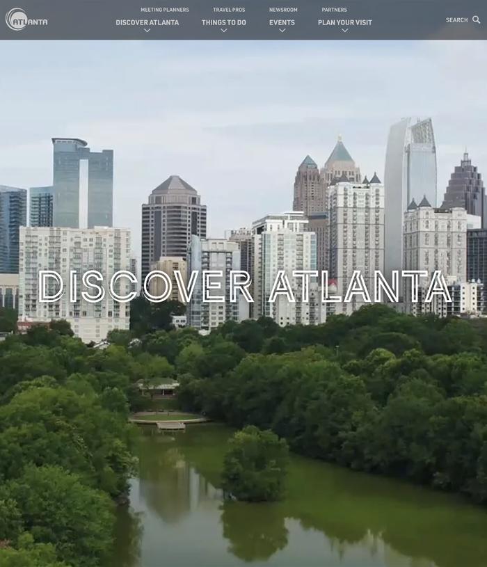Discover Atlanta website 7