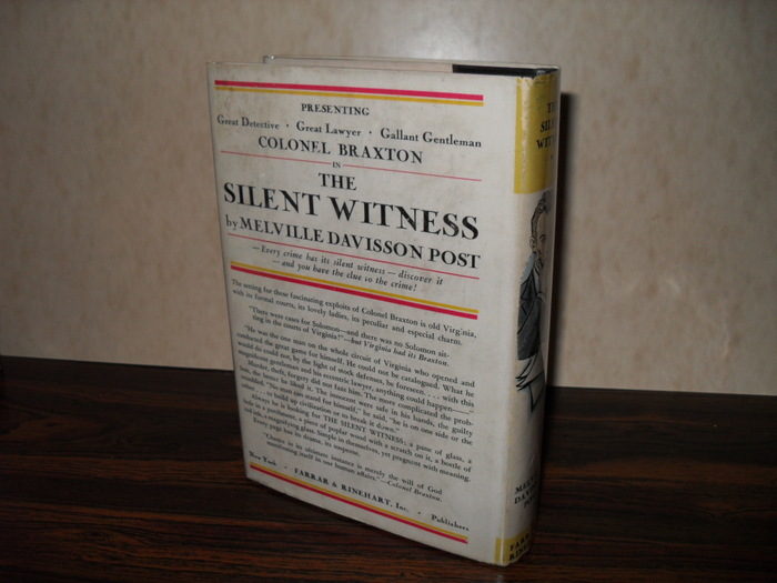 The Silent Witness by Melville Davisson Post 2
