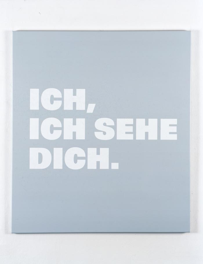 Neue Bilder 48d, Ich, ich sehe Dich, 1998.