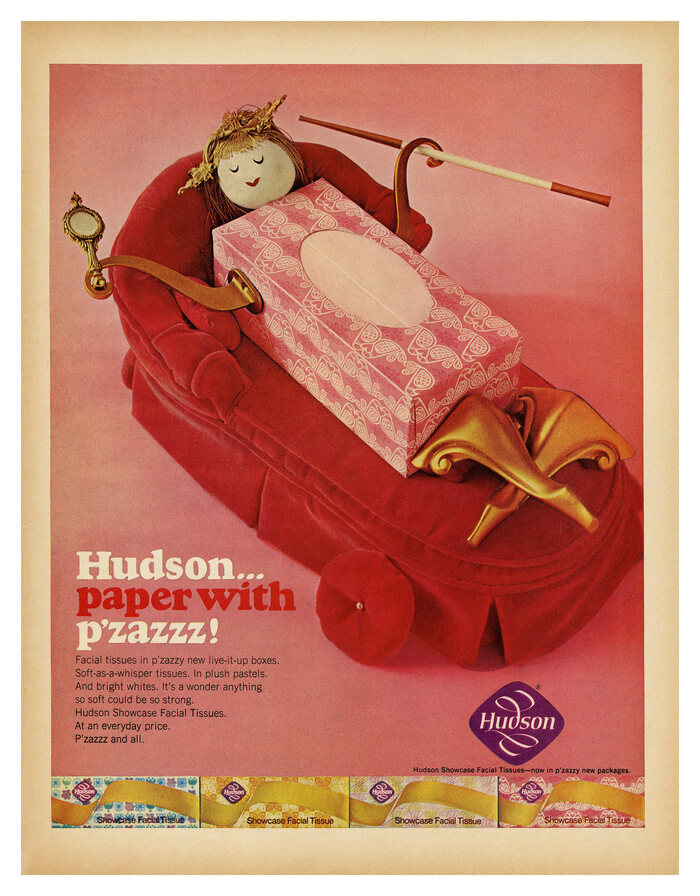 """Hudson… paper with p'zazzz!"" ads (1966) 3"