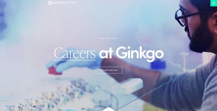 Ginkgo Bioworks website 5
