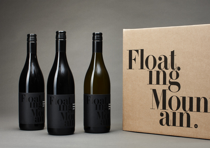 Floating Mountain label 1