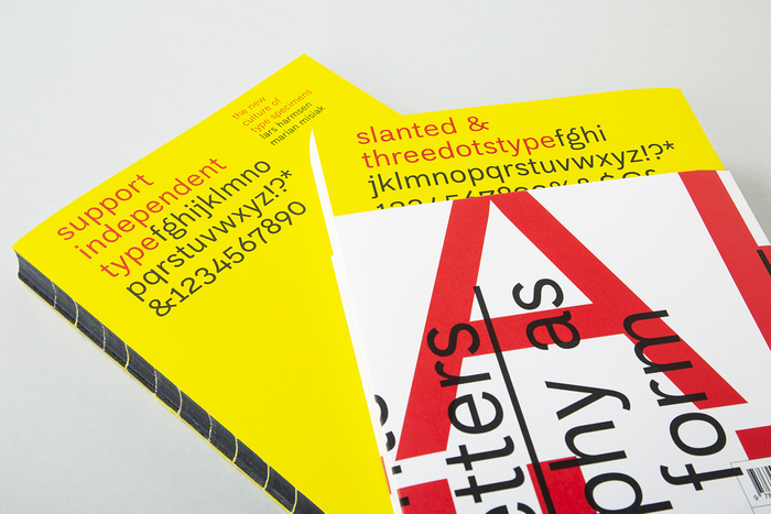 Support Independent Type – The New Culture of Type Specimens 1