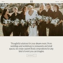 Buds Floral Design website