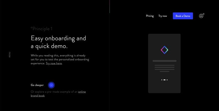 Corebook.io website 3