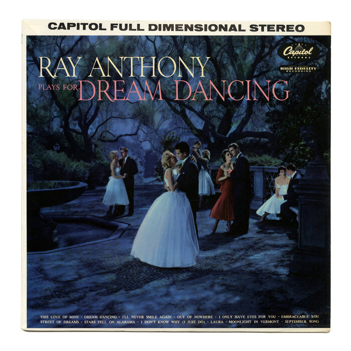Ray Anthony – Plays For Dream Dancing album art