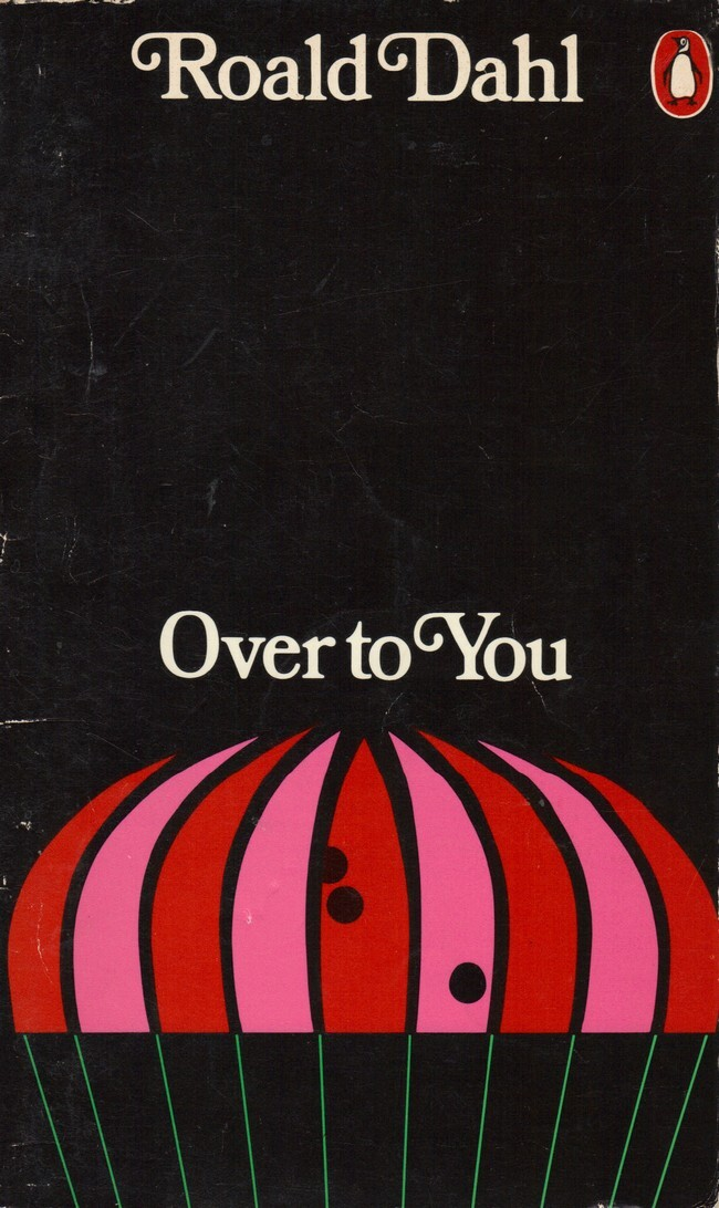Over to You, Penguin Books 3574, 1973. [Goodreads] Cover design by Omnific.