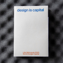 <cite>Design is capital</cite> exhibition catalog