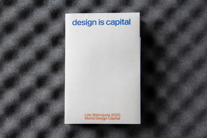 Cover of Design is capital. Lille Métropole 2020 World Design Capital.