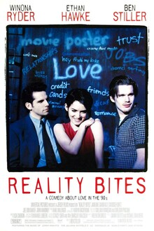 <cite>Reality Bites</cite> (1994) movie poster