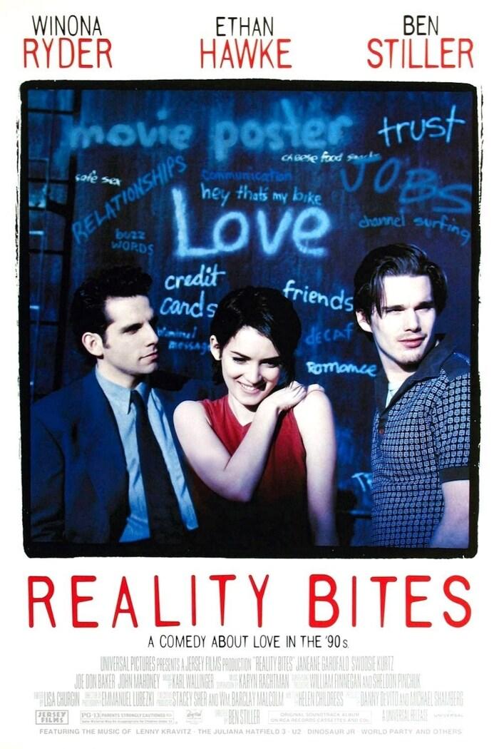 Reality Bites (1994) movie poster