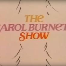 <cite>The Carol Burnett Show</cite> TV show logo