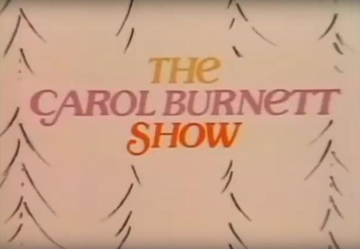 The Carol Burnett Show TV show logo