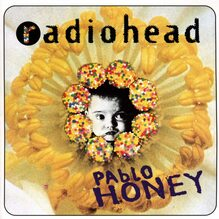 Radiohead – <cite>Pablo Honey</cite> album art