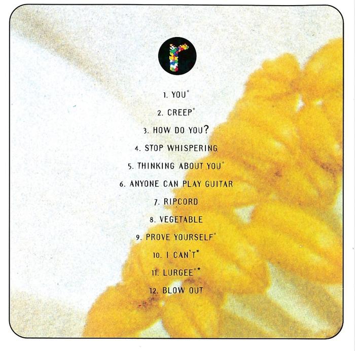 Radiohead – Pablo Honey album art 2