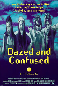 <cite>Dazed and Confused</cite> (1993) movie poster