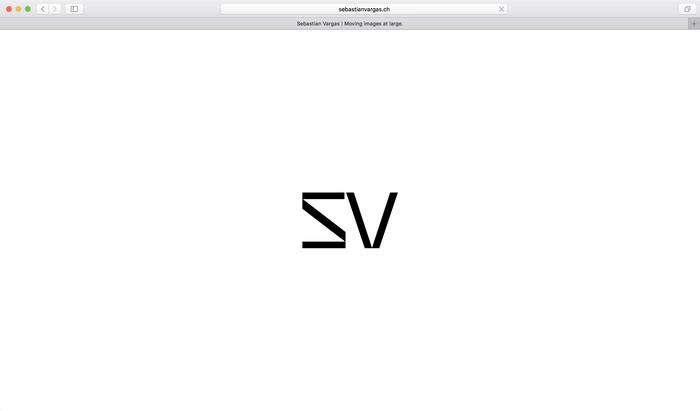 Sebastian Vargas website 1