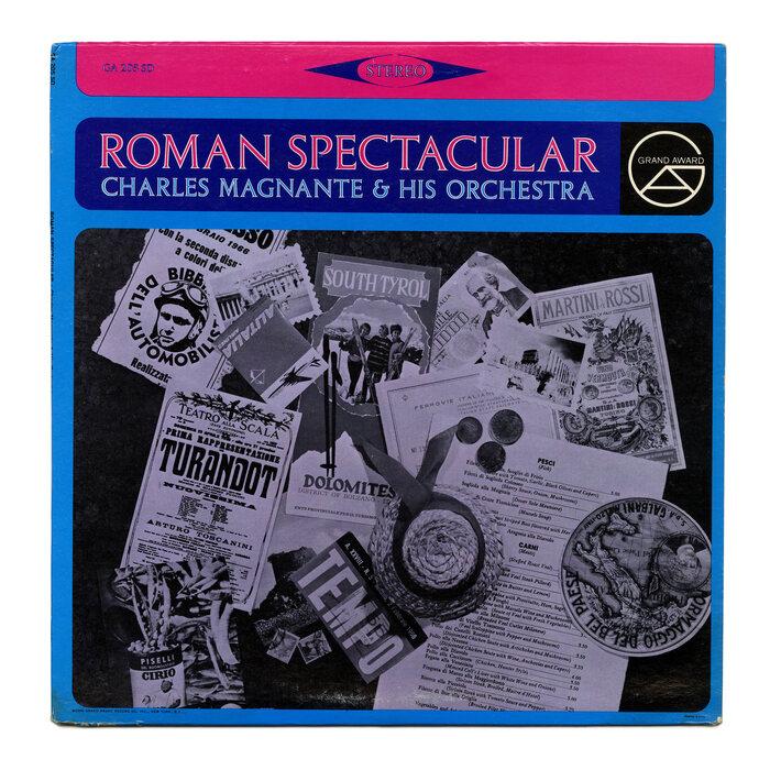 Charles Magnante & His Orchestra – Roman Spectacular album art