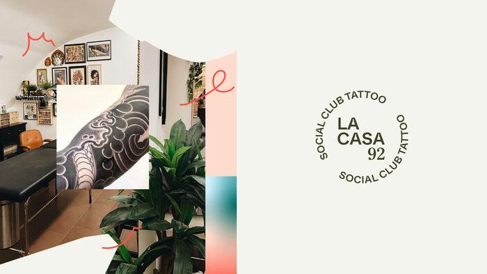 La Casa 92 Social Club Tattoo 1