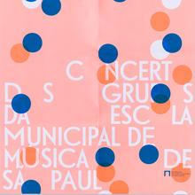 São Paulo Municipal School of Music concert poster