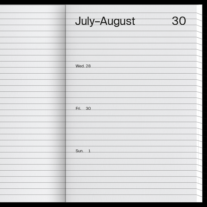 2021 Weekly Index calendar 5