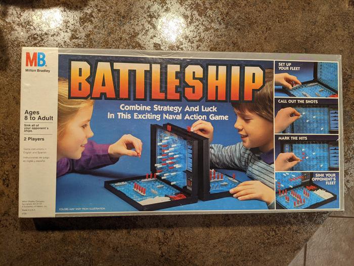 Battleship board game (1984) 1