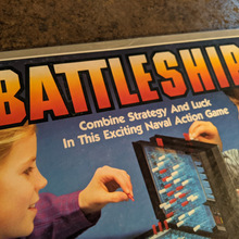 Battleship board game (1984)
