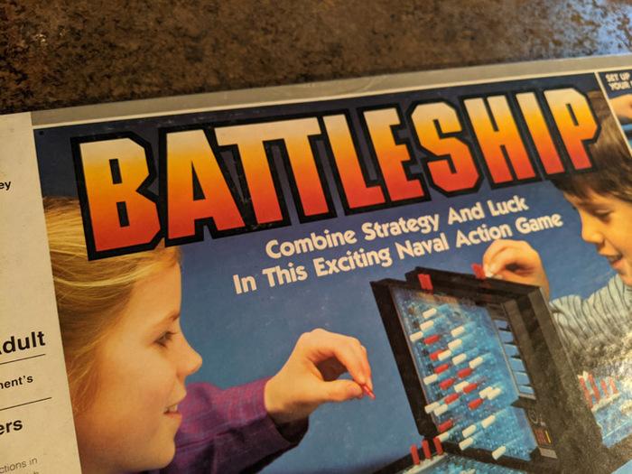 Battleship board game (1984) 2