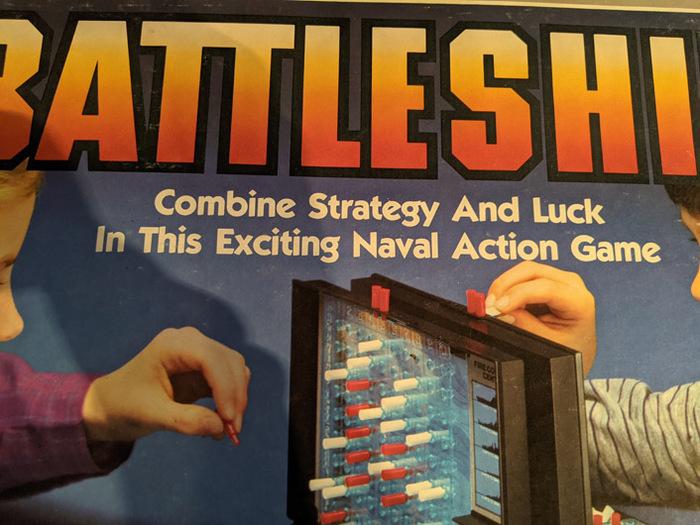 Battleship board game (1984) 3