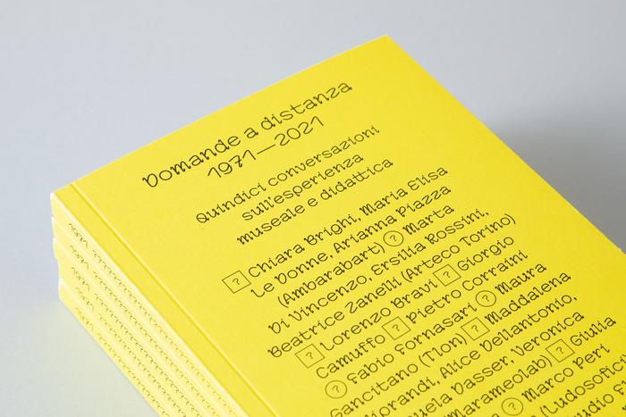 Domande a distanza 1971–2021 (ISIA Urbino) 1