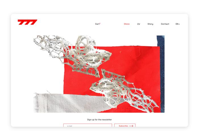 Seven77 website 1