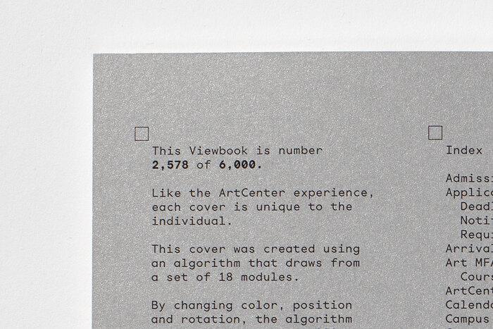 ArtCenter 2019–2020 Viewbook 4