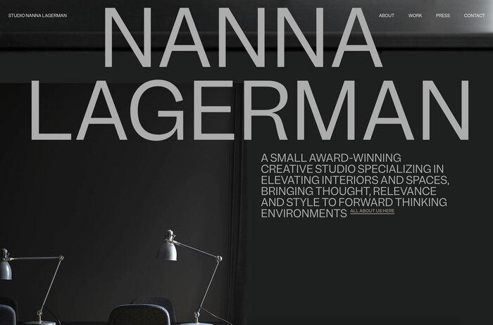 Nanna Lagerman website 1