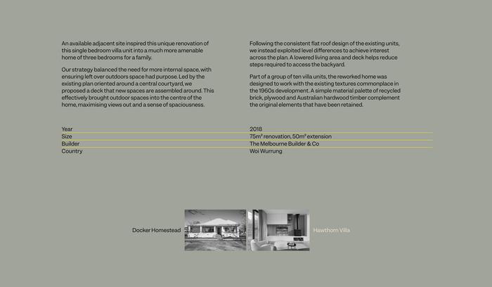 Michael McManus Architects website 2