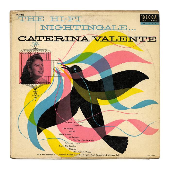 Caterina Valente – The Hi-Fi Nightingale… album art