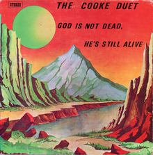 The Cooke Duet – <cite>God Is Not Dead, He's Still Alive</cite> album art