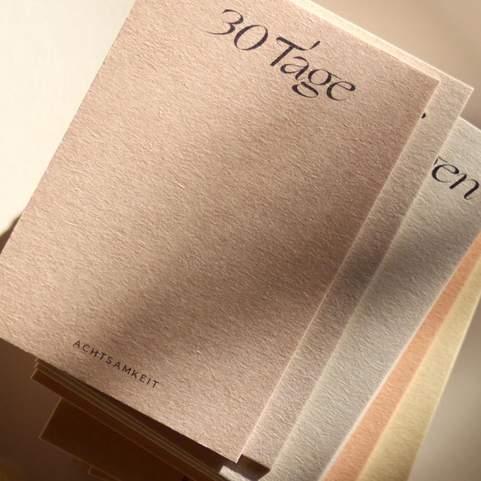 30 Tage Achtsamkeit card set 6