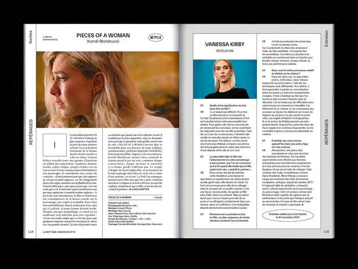 "La Septième Obsession, issue 32, ""Love"" 5"