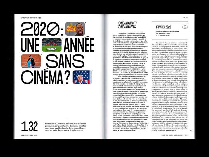 "La Septième Obsession, issue 32, ""Love"" 7"