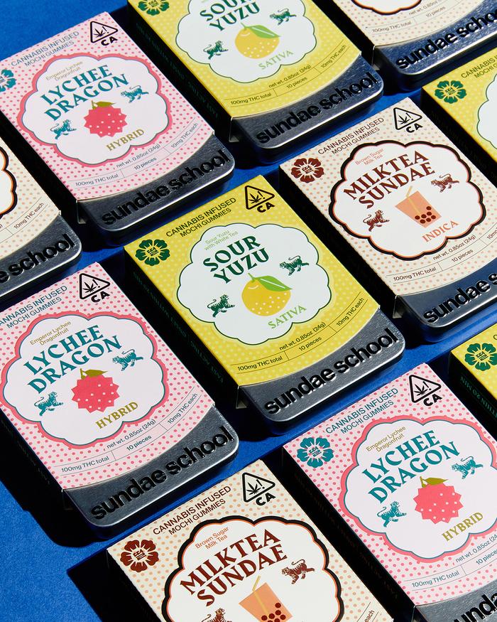 Sundae School gummy sweets