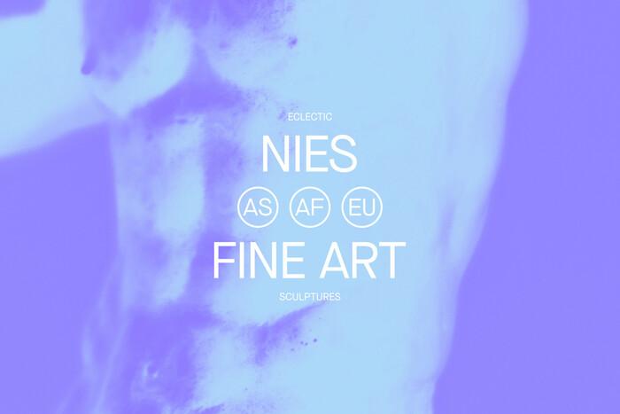 Nies Fine Art identity 1