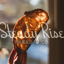 Steady Rise Bread Co. logo and branding