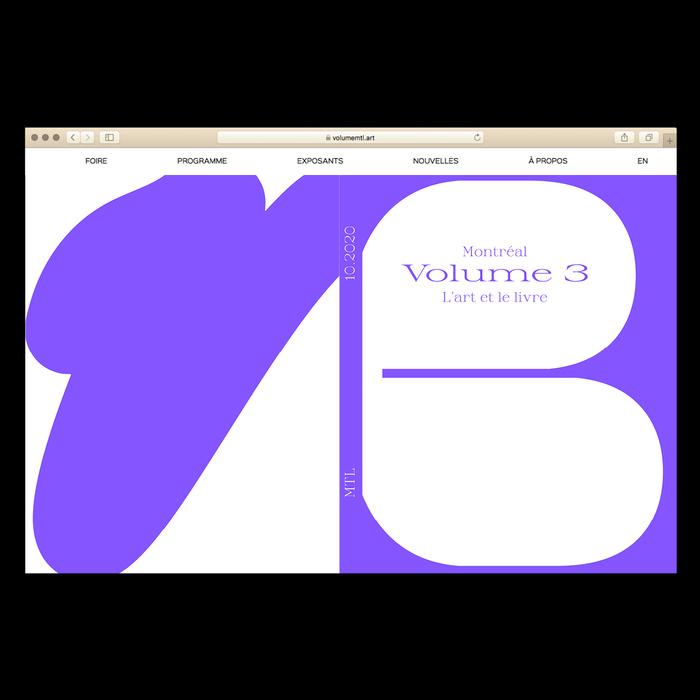 Volume 3 Montreal Book Fair 2020 2