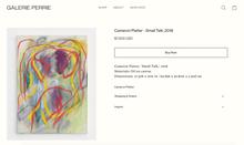 Galerie Perrie website