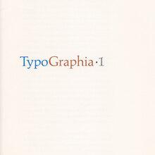 <cite>Typographia·1</cite>, The Adagio Press