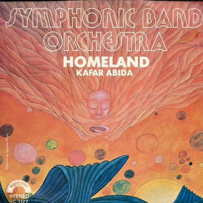 "Symphonic Band Orchestra – ""Homeland"" / ""Kafar Abida"" single cover 2"