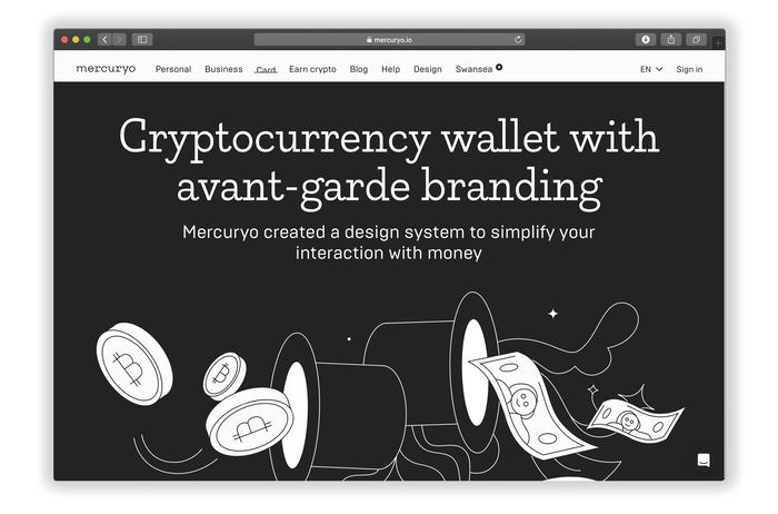 Mercuryo website and identity 3