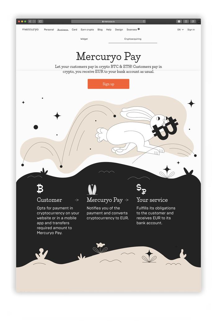 Mercuryo website and identity 4