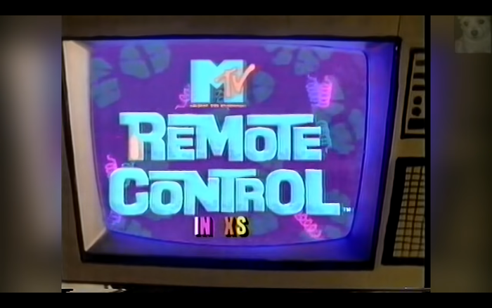 Show logo as seeen in the intro.