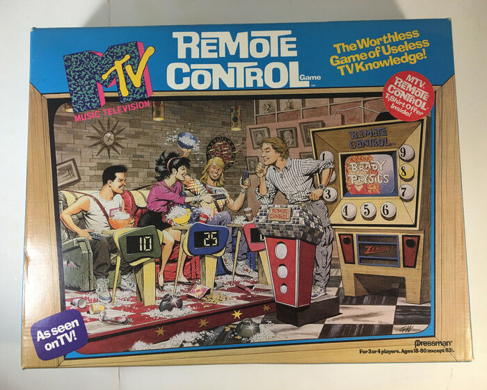 Board game box.